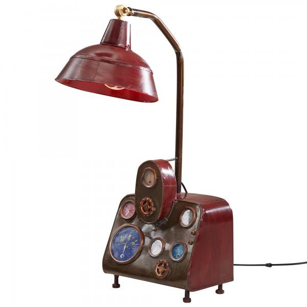 "Tischlampe ""Mareen"" Vintage Look Metallampe 30x76x50cm Dekolampe Stehlampe"