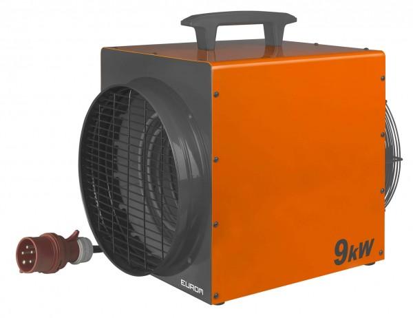"""Werkstattheizung """"Albo"""" orange 46x31,5x42cm 9000W Garagenheizung Heizung"""