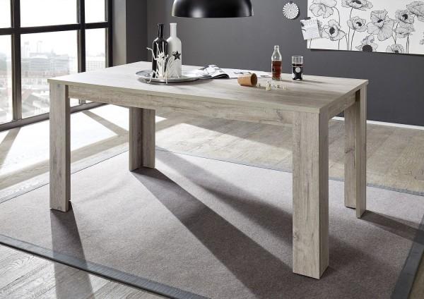 """Esstisch """"Sammy"""" - in Ancona Oak Nachbildung 160x90 cm"""