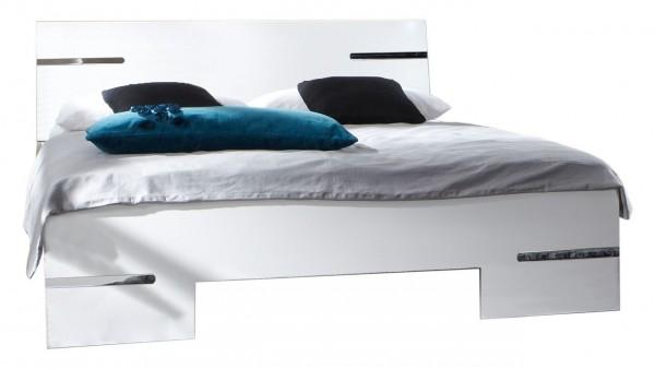 """Futonbett """"Sibling"""", Bett, Alpinweiß, in verschiedene Größen"""