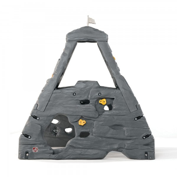 "Kletterwand ""Trudi"" aus Kunststoff 132,1x203,2x203,2cm grau Kinderkletterwand"