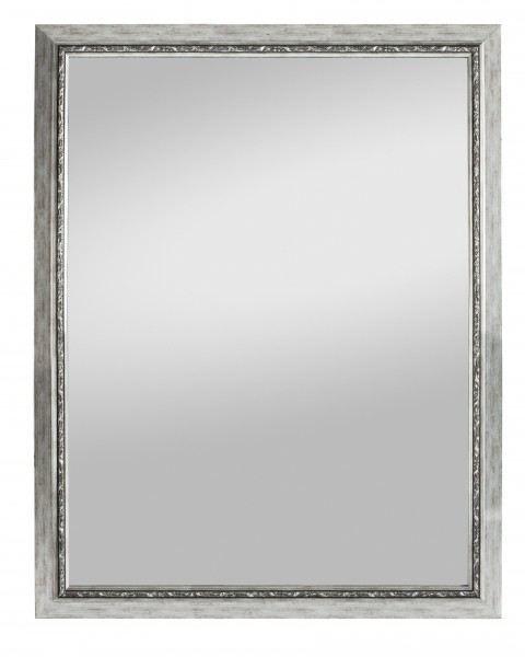 Beauty Scouts Spiegel Wandspiegel Rahmenspiegel Manchaster II silber 55x70cm