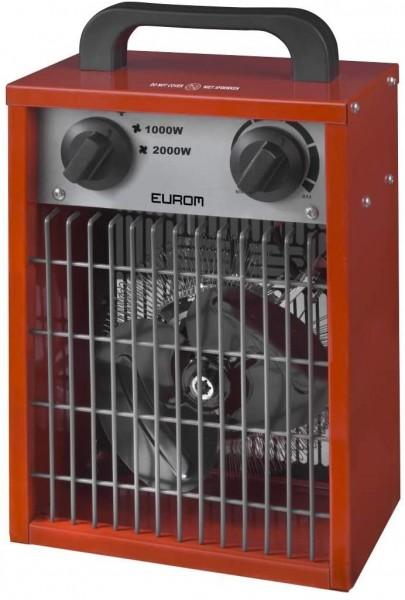"""Werkstattheizung """"Akar"""" rot 15x24x27cm 2000W elektrische Heizung Garagenheizung"""