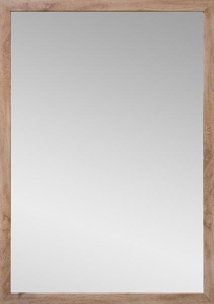 """Spiegelprofi 60284629 Rahmenspiegel KATHI Rahmenspiegel """"Flo"""", Wotan Eiche, mit Rahmen, ca. 48 x 68cm Wandspiegel Spiegel"""
