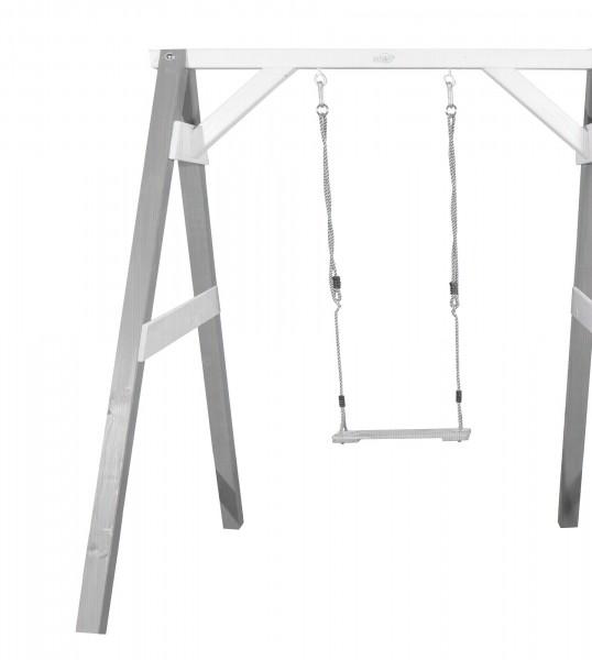 """Einzelschaukel """"Allegra 2"""" aus Hemlock-Holz in grau 160x181x207cm Schaukel"""