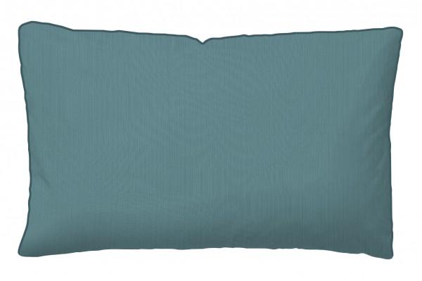 """Tom Tailor Satin Kopfkissenbezug """"Mika"""", petrol, 40 x 80cm, Baumwolle, Wendekopfkissen, Schlafzimmer"""