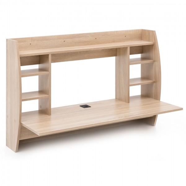 """Wandtisch """"Maria II"""" Sonoma Eiche Holznachbildung 110x75x48,5cm Schreibtisch Tisch"""