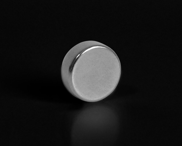 "pop.up 3er Set Magnet ""Judy"" Metallic 10x4mm rund stark Supermagnet"