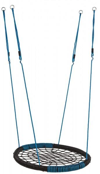"Nest-Schaukel ""Lulu"" blau Kunststoff 7,5x108x83,5cm Schaukel Babyschaukel"