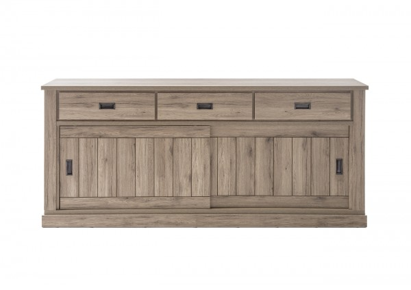 Sideboard, Kommode, Wohnzimmer, Madera III, Beauty.Scouts, San Remo Eiche (1)