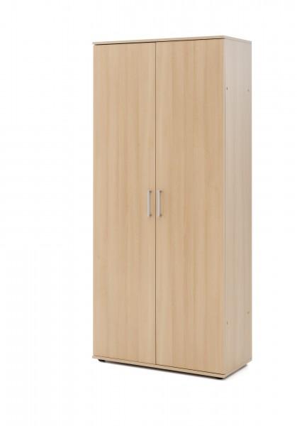 """Kleiderschrank """"Charly"""", Buche NB, 80 x 178,5 x 39 cm, Mehrzweckschrank, Schrank, Schlafzimmer, Flur"""