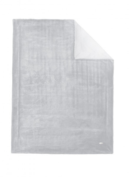 "S.Oliver Premium Comfort Wohndecke ""Cobie"" 150x200 cm silber"
