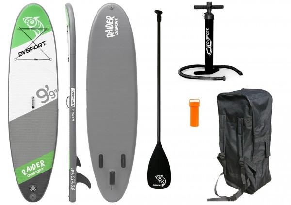 "Stand-Up-Paddle ""Adventure Sport No.5"" grün grau 300x75x10cm Paddling"