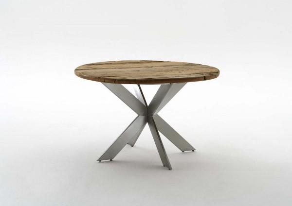 """Tisch Massiv rund """"Woody"""" Gartentisch Esszimmertisch Holztisch"""