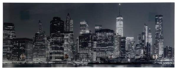 "Spiegelprofi 76075035 Glasgarderobe TOBI Glasgarderobe ""Silhouette"", 30x80x6 cm, Kleiderhaken"