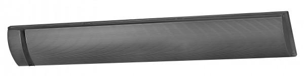 """1x Outdoor Heatpanel Eurom Terrassenheizstrahler Heizstrahler """"Black Line 1"""", 1800 Watt, 104 x 17 x 5 cm, dunkel Heizstrahler"""
