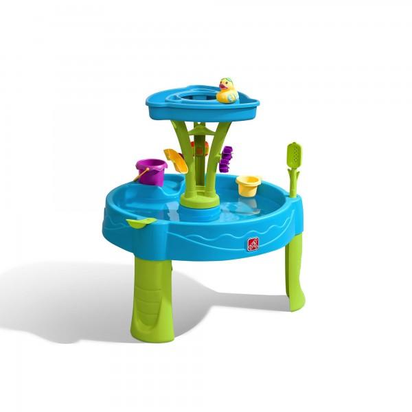"""Wasserspieltisch """"Bert"""" aus Kunststoff 66x66x57,2cm Sand- und Wassertisch"""