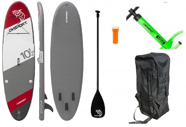 """Stand-Up-Paddle """"Adventure Sport No.7"""" rot 310x86x12,7cm SUP Paddling"""