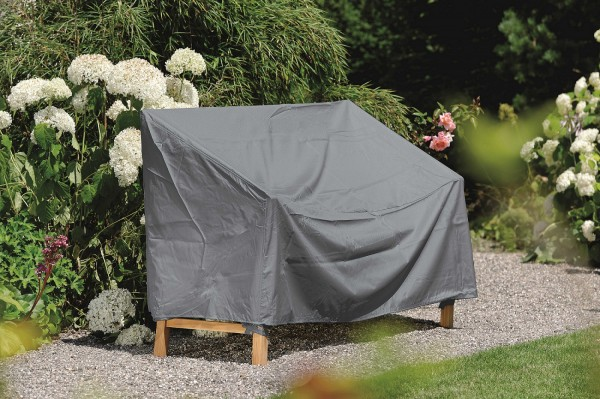 """Schutzhülle """"Cosima"""", für 3-Sitzer Bank, grau, 180 x 55 x 80 cm, Gartenmöbelzubehör, Garten"""