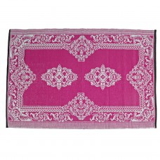 """Beauty.Scouts Outdoor Teppich """"Pink Paradise"""" 120x180 cm Orient pink weiss"""