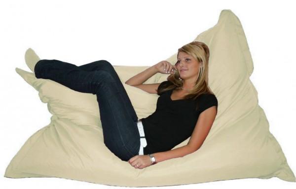 """Kinzler Sitzsack """"Titan II"""" XXL Indoor & Outdoor geeignet 140x180cm hochwertiges Material"""