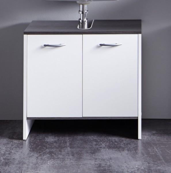 Waschbeckenunterschrank 'Uni Star II', weiss Badschrank, Unterschrank, Badezimmerschrank