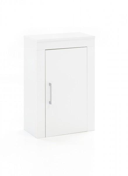 """Hängeschrank """"Pauline"""", weiß, Rahmenoptik, 45 x 72 x 24 cm"""