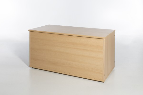 """Truhe """"Moni"""", Buche Dekor, mit Klappe, viel Stauraum, 84 x 46,5 x 42 cm"""