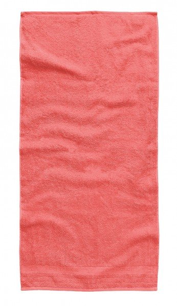 "Tom Tailor Handtuch 2er-Set ""Daisy"", 50 x 100 cm, flamingo, Badezimmerhandtuch, Badezimmer"