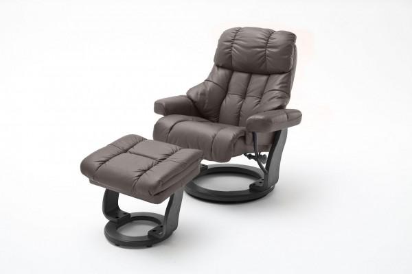 """Relax Sessel Komfort XXL """"Brüssel"""" - Wohnzimmersessel Leder verschiedene Farben bis 180 kg"""