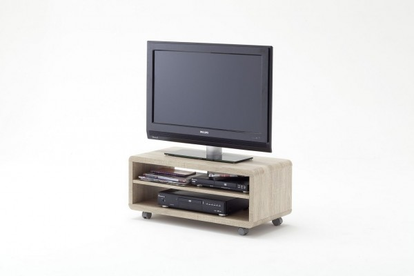 "TV-Lowboard ""Glory"", Eiche sägegrau Nachbildung, 79x35x39 cm"