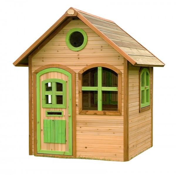 """Holzspielhaus """"Salve"""" 120x118x175cm aus Zedernholz in braun"""