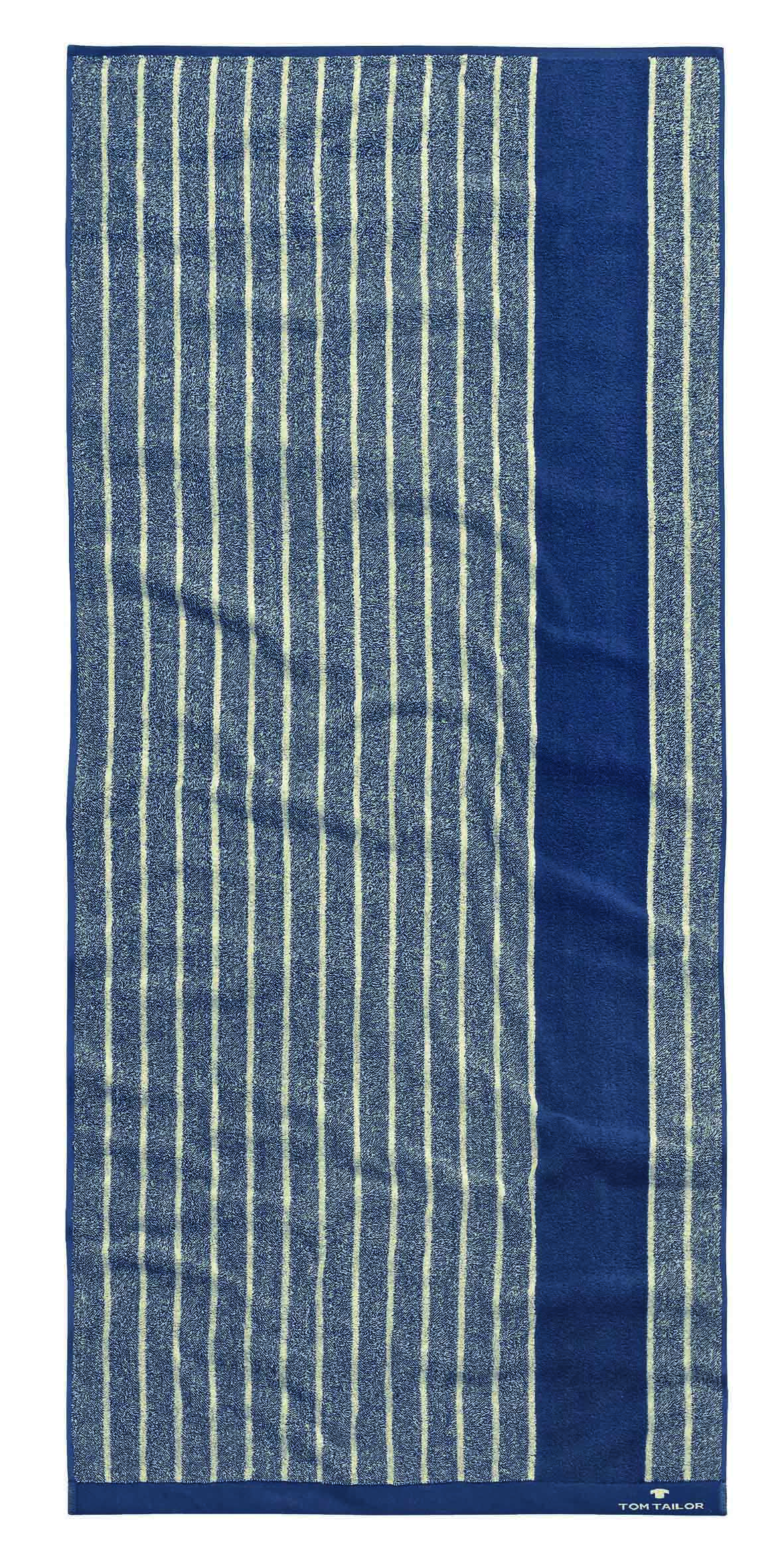 tom tailor handtuch vitality towel stripes navy 2er set beauty scouts beauty lifestyle. Black Bedroom Furniture Sets. Home Design Ideas