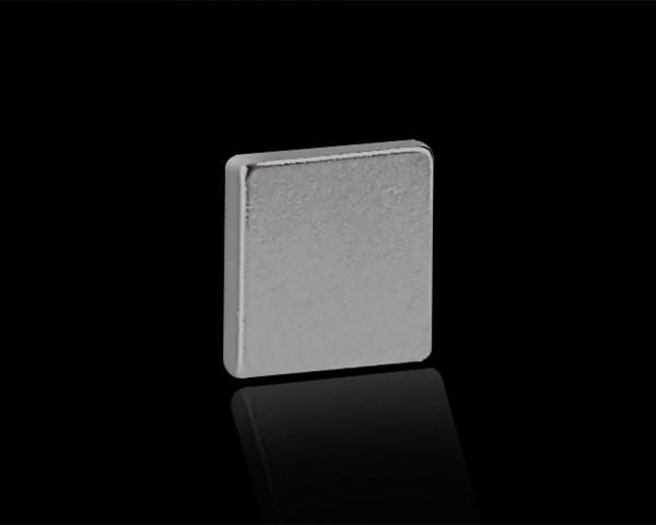 """pop.up 3er Set Magnet """"Mary"""" Metallic 10x10x2mm eckig stark Supermagnet"""