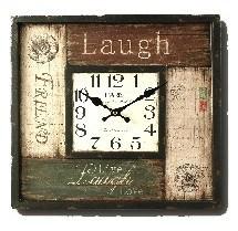 "Wanduhr ""Laugh"" 40x40 cm"