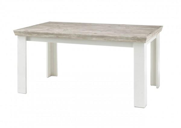 Esstisch, Tisch, Wohnzimmer, Kiruna, Beauty.Scouts, Pinie weiß, Oslo Pinie, Schubkasten