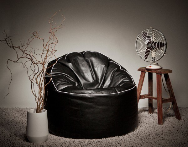 Sitzsack Magma Cosy Tube weiß oder schwarz