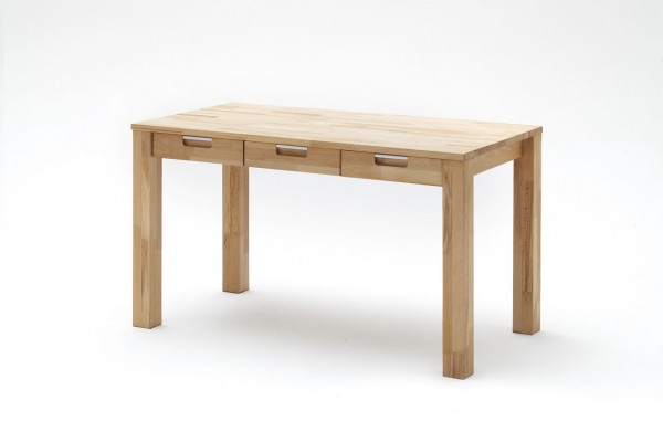 "Schreibtisch ""Mito"", Kernbuche Massiv, Massivholz, 135x76x70 cm"