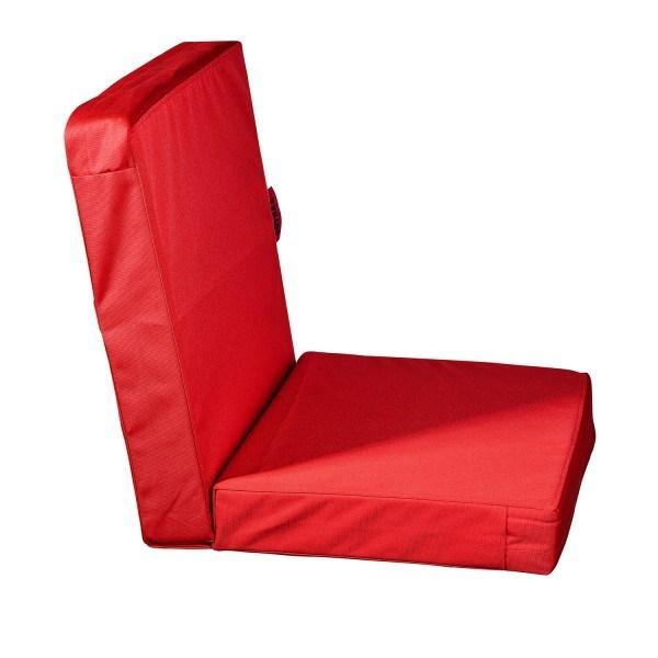 Pushbag Gartenstuhl Auflage Sitzkissen Topper Lowrise 50x50x45 cm in verschiedenen Farben