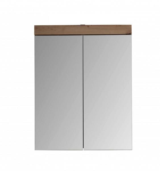"""Spiegelschrank """"Antonia"""", 60 x 77 x 17 cm, Asteiche (NB), Badezimmerspiegel, Spiegel, Badezimmer"""