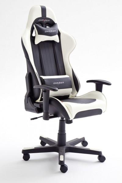 """Chefsessel """"Limitless III"""" schwarz-weiß, 53x126x52cm, Sitzhöhe43-52cm"""