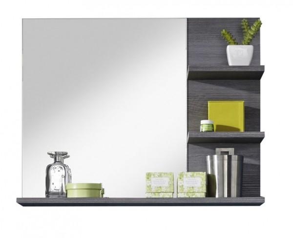 """Spiegel mit Ablage """"Galena"""",ca72x57x17, Spiegel,Badezimmerspiegel,Rauchsilber Detail"""