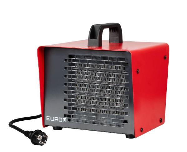 """Werkstattheizung """"Aika"""" rot/schwarz 19x18x19cm elektrische Heizung Garagenheizung"""