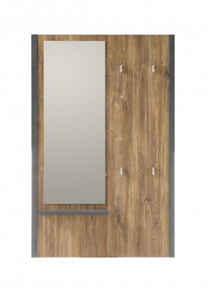 "Garderobe ""Java Living I"" Garderobenpaneel, Stirling Oak Nachbildung, 90x140x12 cm"