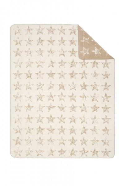 Jacquard Decke Sorrento beige/camel