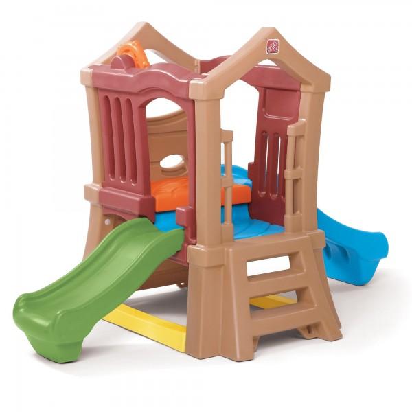 """Kinderspielhaus """"Tessa"""" aus Kunststoff bunt 248,9x129,5x152,4cm Spielecenter"""