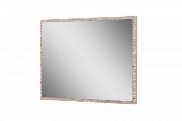 """Wandspiegel """"Judy 1"""", Eiche Sand Dekor, Badezimmerspiegel, 45 x 60 x 2 cm"""