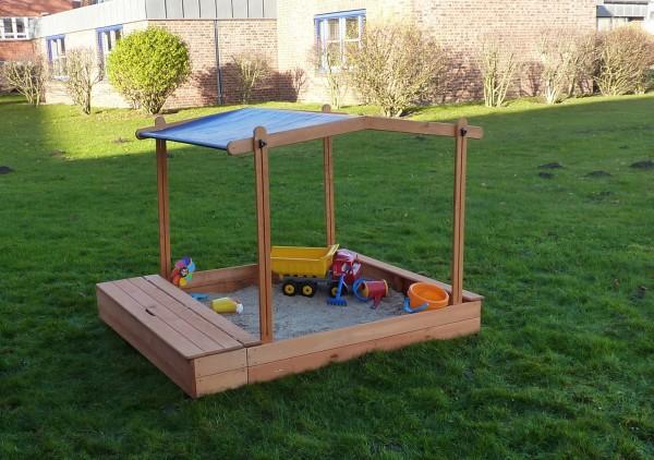 """Sandkasten """"Sandy III"""", Kiefer, 172x140x132cm, Kindersandkasten, Garten, Spielzeug, Kinderspielzeug"""