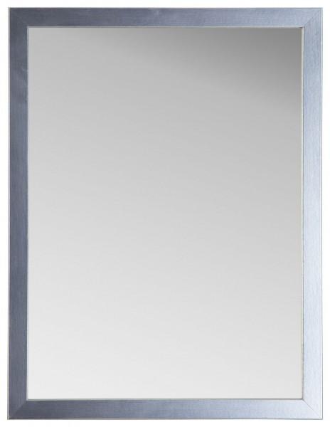 """Spiegelprofi 60133420 Rahmenspiegel BENTE Rahmenspiegel """"Birte"""", Edelstahloptik, mit Rahmen, ca.32 x 42cm Wandspiegel Spiegel"""