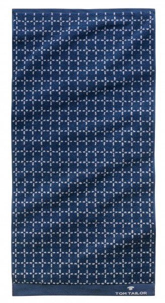 "Tom Tailor Strandtuch Jacquard Towels ""Beach Star Quad Blue"", 2er-Set"